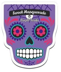 DR.MOLA Sweet Masquerade sheet mask Purple Fruits Rewitalizująca maska w płachcie 23ml