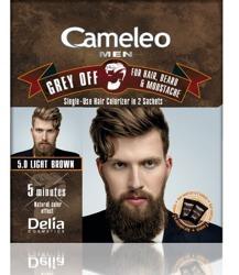 Delia Cameleo Men Farba do włosów i zarostu 5.0 Jasny brąz 2x15ml