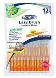 DenTek Easy Brush Szczoteczki do przestrzeni międzyzębowych rozmiar 1 12szt.