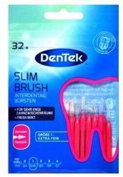DenTek Essentials Slim Brush extra fein Szczoteczki do przestrzeni międzyzębowych 32szt.