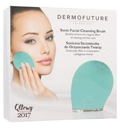 DermoFuture Szczoteczka Soniczna do oczyszczania twarzy Zielona