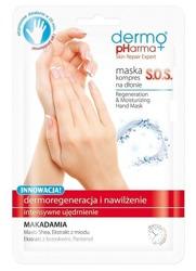 DermoPharma Maska-kompres na dłonie SOS 2szt