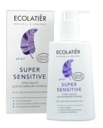 ECOLATIER Żel do higieny intymnej Super Sensitive 250ml