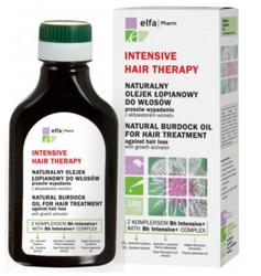 Elfa Pharm Intensive Hair Therapy - Naturalny olejek łopianowy do włosów 100ml