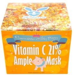 Elizavecca Vitamin C 21% Ample Mask Rozjaśniająca maseczka do twarzy 100g
