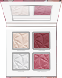 Essence CRYSTAL POWER Blush&highlighter palette Paletka róży i rozświetlaczy 14g