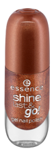 Essence Shine Last&Go! Żelowy lakier do paznokci 41 Big city vibes 8ml