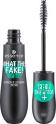 Essence What the fake! Mascara Tusz wydłużająco- pogrubiający 01 Black 16ml