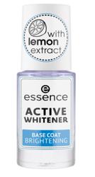 Essence nail ACTIVE WHITENER base coat Odżywka/baza rozjaśniająca do paznokci 8ml