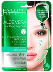Eveline Aloe Vela Ampułka Kojąca maska w płachcie