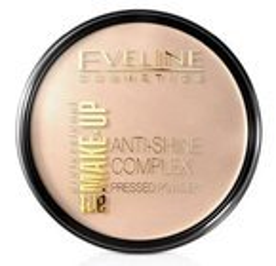 Eveline Cosmetics Art Make-Up Mineralny puder matujący z jedwabiem 31 transparent 14g