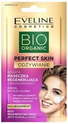Eveline Cosmetics BIO Organic Perfect Skin Odżywienie Bogata maseczka regenerująca z miodem 8ml
