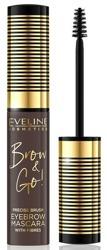 Eveline Cosmetics Brow and Go Tusz do brwi 02 Dark 6ml