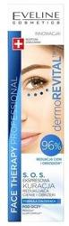 Eveline Cosmetics DermoREVITAL S.O.S. Ekspresowa kuracja redukująca cienie i obrzęki 15ml