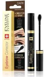Eveline Cosmetics Eyebrow Corrector 5w1 Korektor do brwi Dark 9ml