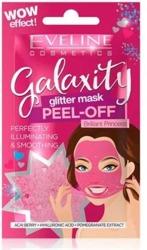 Eveline Cosmetics GALAXITY Glitter maseczka Rozświetlająco-wygładzająca 10ml