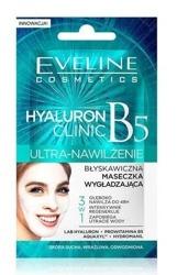 Eveline Cosmetics Hyaluron Clinic B5 Błyskawiczna maseczka wygładzająca 3w1 7ml