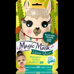 Eveline Cosmetics Magic Mask maska w płacie 3D Llama Queen