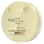 Eveline Cosmetics Matt My Day Banana Sypki puder bananowy 6g