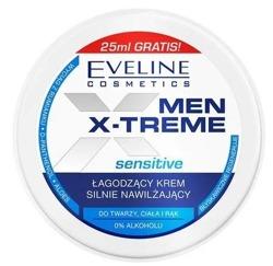 Eveline Cosmetics Men X-treme Sensitive łagodzący krem multifunkcyjny nawilżający do twarzy, ciała i rąk100ml