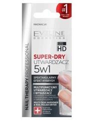 Eveline Cosmetics Nail Theraphy SUPER-DRY Multifunkcyjny utwardzacz i wysuszacz 5w1 12ml
