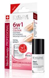 Eveline Cosmetics Odżywka do paznokci nadająca kolor 6w1 FRENCH
