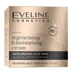 Eveline Cosmetics Organic Gold Regenerujący krem nawilżający do twarzy 50ml