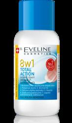 Eveline Cosmetics Total Action 8w1 Zmywacz do paznokci 150ml