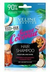 Eveline Food for Hair szampon do włosów Sweet Coconut 20ml