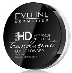 Eveline Full HD Translucent Utrwalający i matujący puder sypki 6g