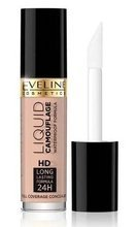 Eveline Liquid Camouflage HD Kryjący korektor do twarzy 01A light beige 5ml