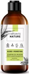 FAVORITE szampon do włosów przetłuszczających się - Aloes i Pokrzywa 400ml