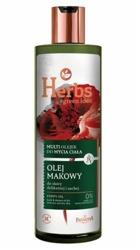 Farmona Herbs OLEJ MAKOWY Multi olejek do mycia ciała 400 ml