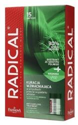 Farmona Radical Kuracja przeciw wypadaniu włosów /Kompleks odżywczy w ampułkach stymulujący wzrost włosów