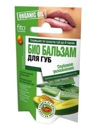 Fitokosmetik Organiczny balsam do ust Głębokie nawilżanie 10g