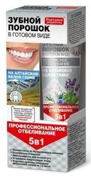 Fitokosmetik Proszek do zębów w postaci pasty z białej gliny 45ml