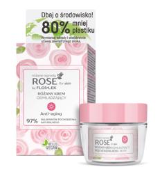 FlosLek ROSE for skin Różane ogrody Różany krem odmładzający na dzień 50ml