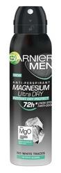 GARNIER MEN spray MAGNESIUM ULTRA DRY Antyperspirant w sprayu dla mężczyzn 150ml