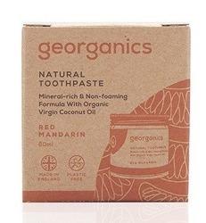 GEORGANICS Mineralna pasta do zębów w słoiku Red Mandarin 60ml
