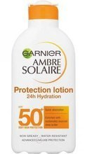 Garnier Ambre Solaire Protection Lotion 24H Hydration Balsam do opalania SPF50 200ml