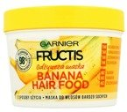 Garnier Fructis Hair Food Banana Odżywcza maska do włosów 390ml
