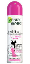 Garnier Invisible Black White Colors Antyperspirant w sprayu 150ml