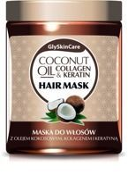 GlySkinCare Coconut Oil Mask - Maska do włosów z olejem kokosowym 300ml