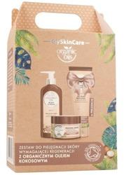 GlySkinCare Coconut Oil Zestaw do pielęgnacji skóry wymagającej regeneracji