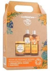 GlySkinCare Organic Oils Zestaw do pielęgnacji włosów przesuszonych i łamliwych