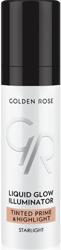 Golden Rose  Liquid Glow Illuminator Tinted Prime & Highlight - Baza pod makijaż z efektem rozświetlającym Pojemność 30 ml