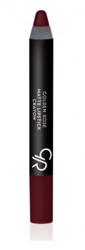 Golden Rose Matte Crayon Lipstick - Matowa pomadka do ust w kredce 02