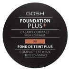 Gosh Foundation Plus Creamy Compact Podkład w kompakcie 008 Golden 9g