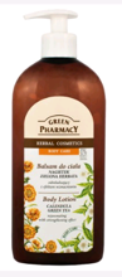 Green Pharmacy Balsam Do Ciała Nagietek Zielona Herbata 500ml