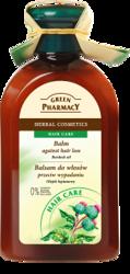 Green Pharmacy Balsam do włosów przeciw wypadaniu z olejkiem łopianowym 300ml